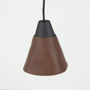 кожаный подвесной светильник
